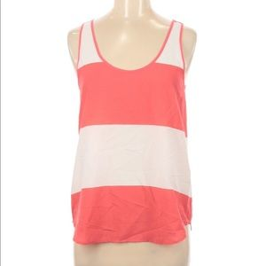 FRENCH CONNECTION Coral wide stripe tank